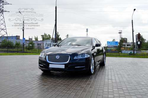 Аренда Jaguar XJ Long с водителем
