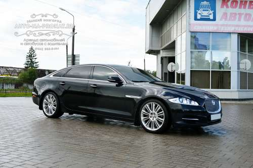 Прокат Jaguar XJ Long с водителем